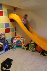 Fun space slide