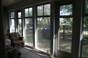 Patio after from inside
