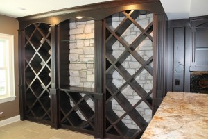 wine case rack