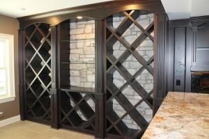 wine case rack